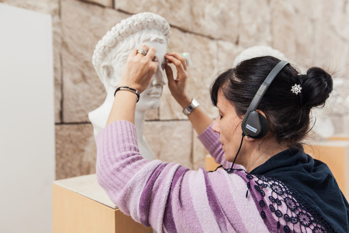 ART FOR THE BLIND_Museo Ara Pacis