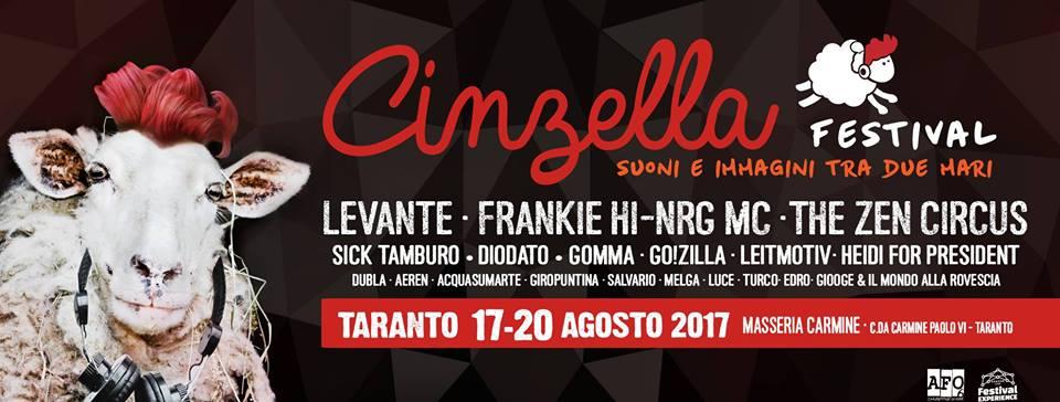 Locandina del Cinzella Festival