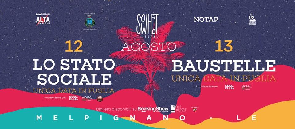 Locandina del So What Festival