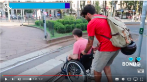 gianluca gazzoli youtuber per movidabilia e la campagna accessibility is cool