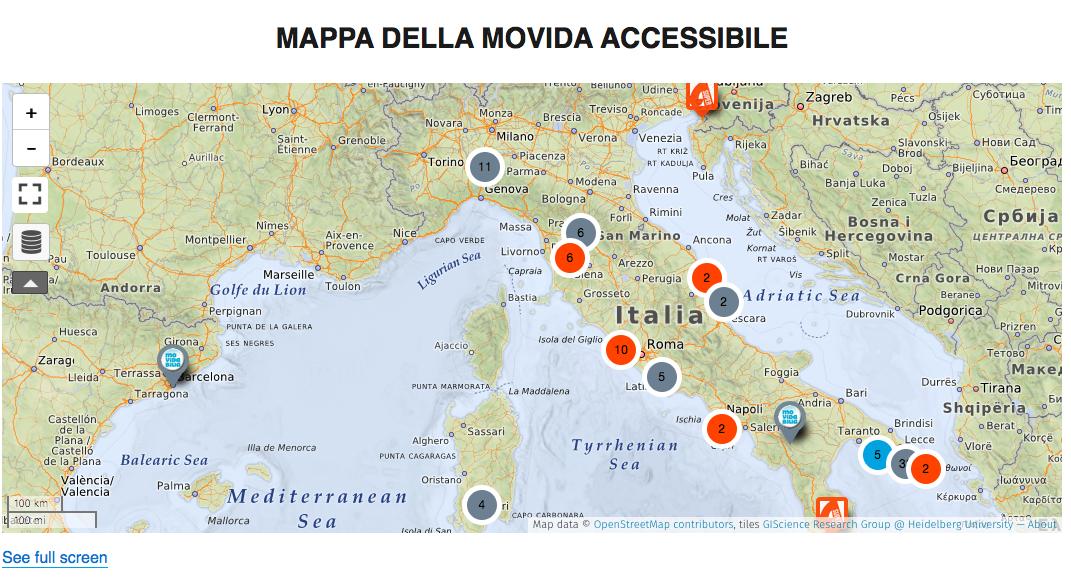 MAPPA DELL'ACCESSIBILITà AGGIORNATA