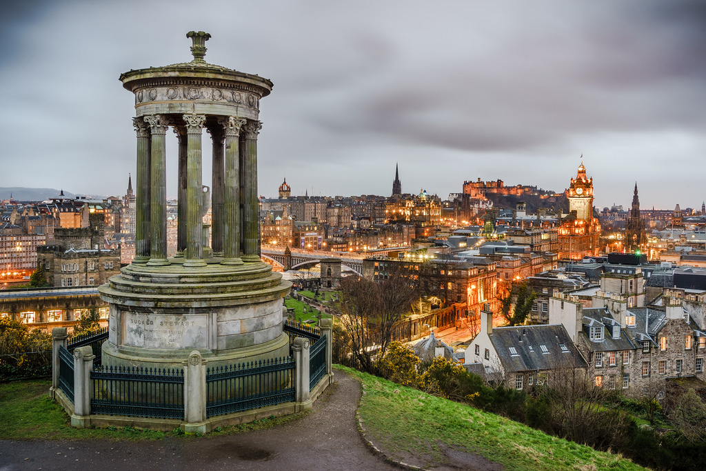Calton Hill Edimburgo accessibile