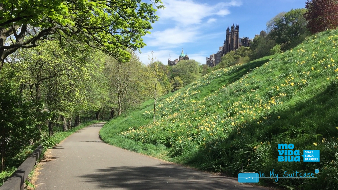 princess street garden - edimburgo accessibile