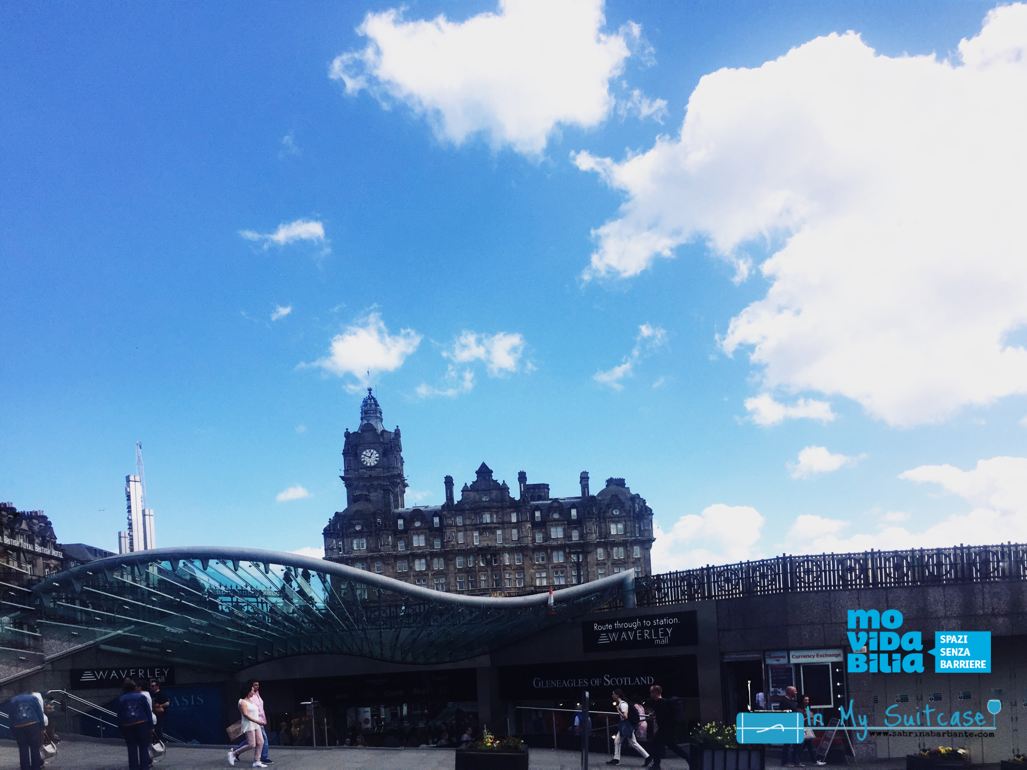 Waverly station - edimburgo accessibile