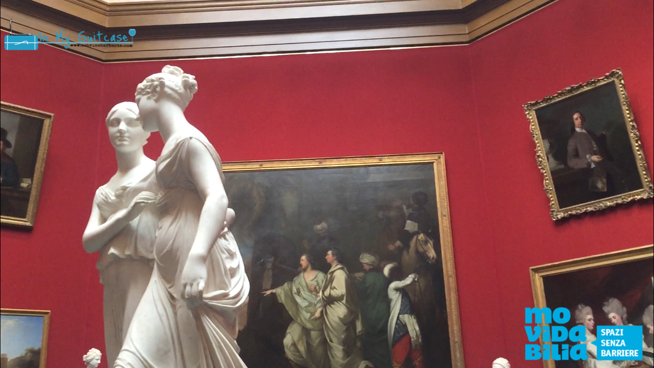 national gallery of scotland - edimburgo accessibile