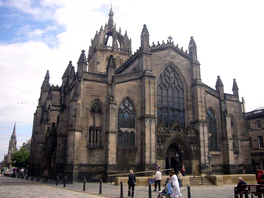 cattedrale di St. Giles - Edimburgo accessibile