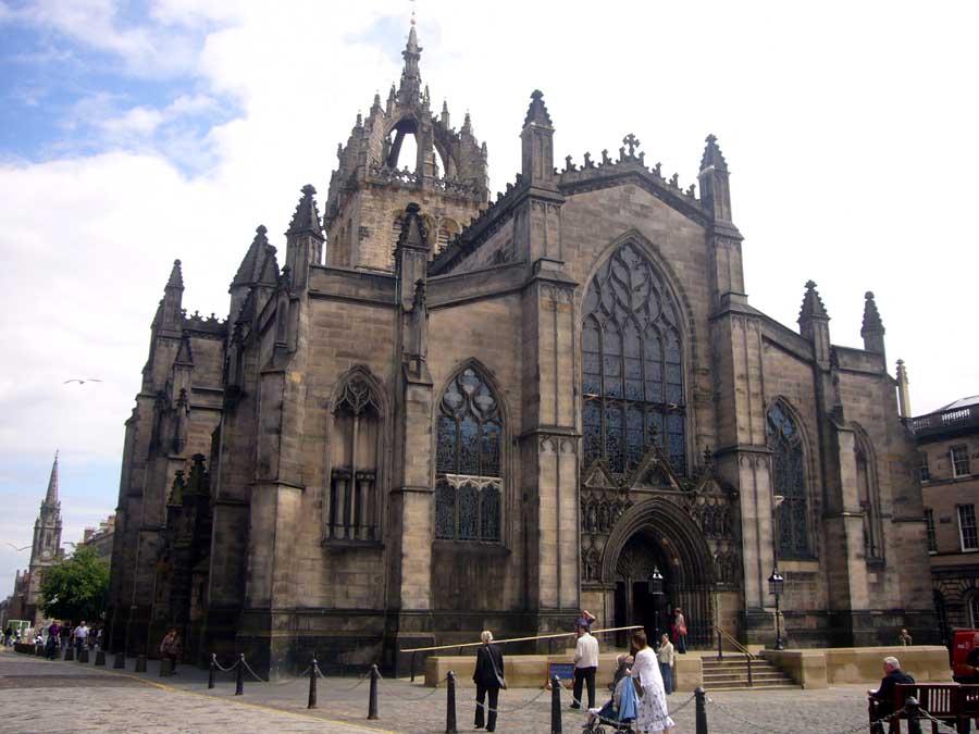 cattedrale di St. Giles - Edimburgo accessibile