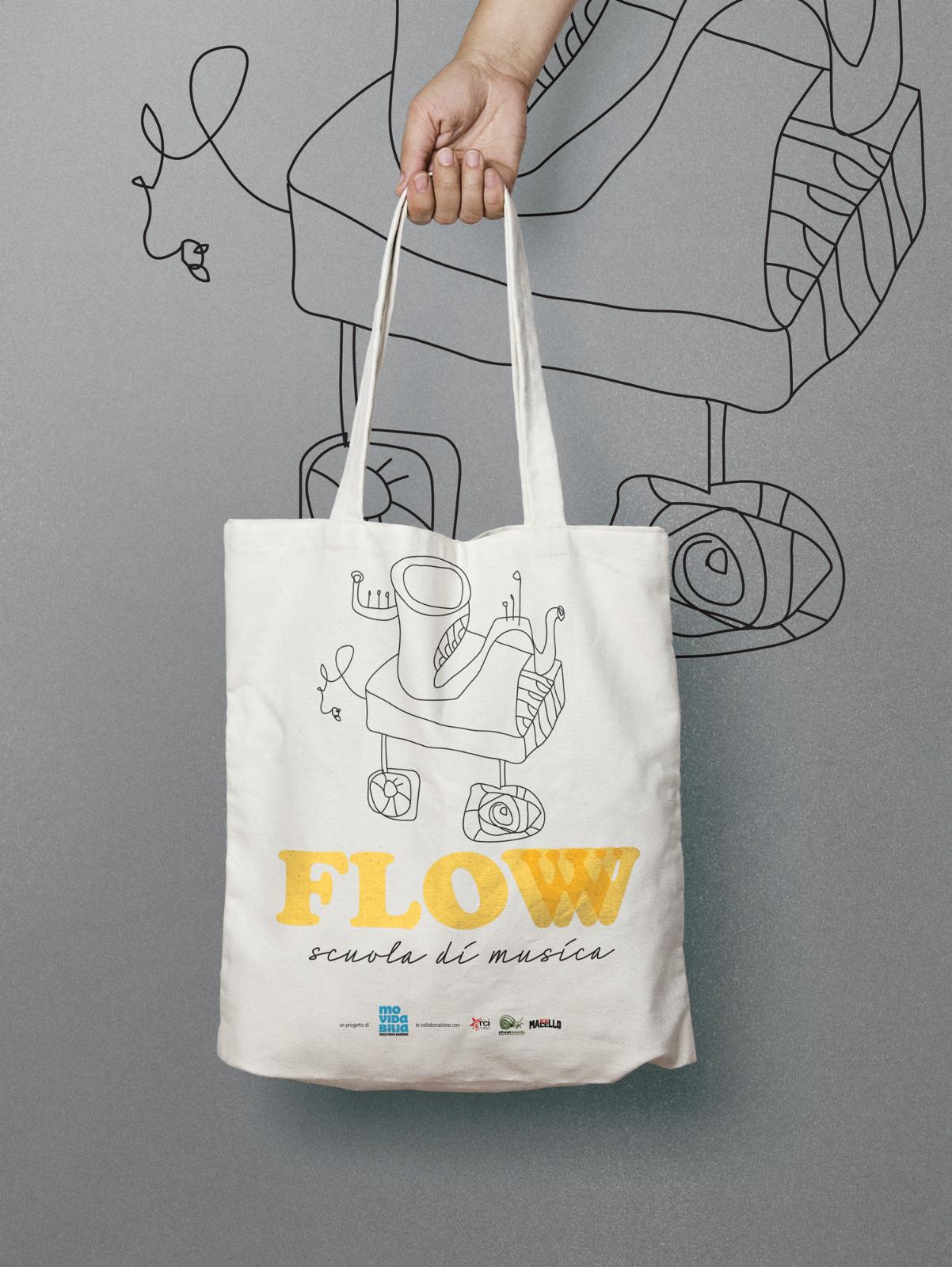 shopper di FLOW scuola di musica