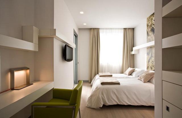 EOS Hotel stanza - accessibile e design minimal