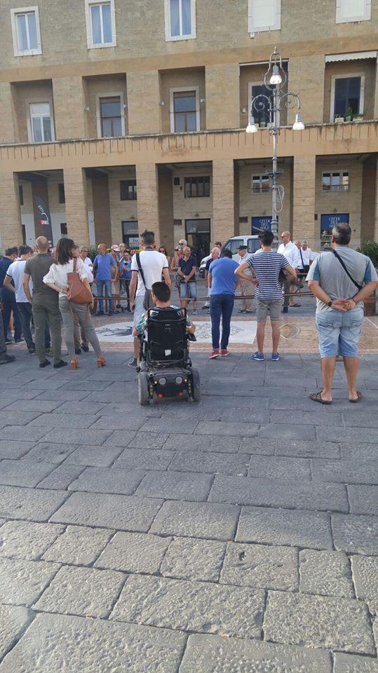 Piazza Sant'Oronzo, Lecce. Con le rampe di Movidabilia