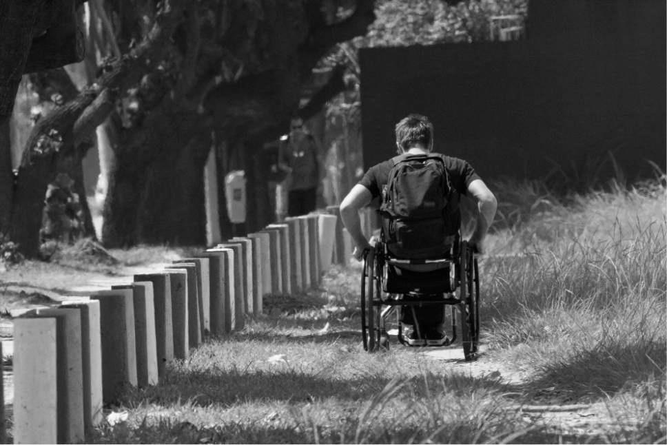 percorsi difficili in sedia a rotelle