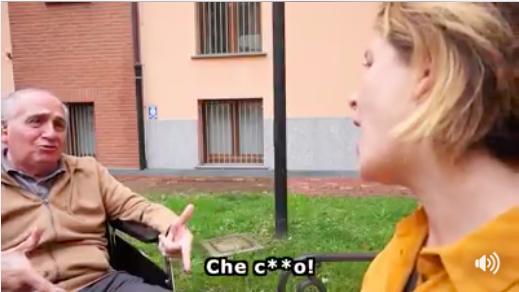 fermo immagine dal video di Pozzolis Family per Movidabilia