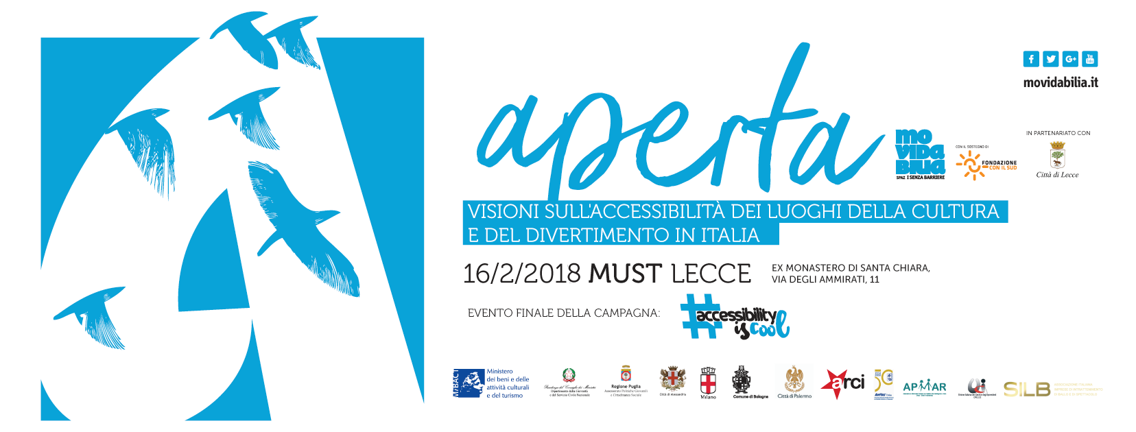 Evento Aperta - visioni sull'accessibilità in Italia