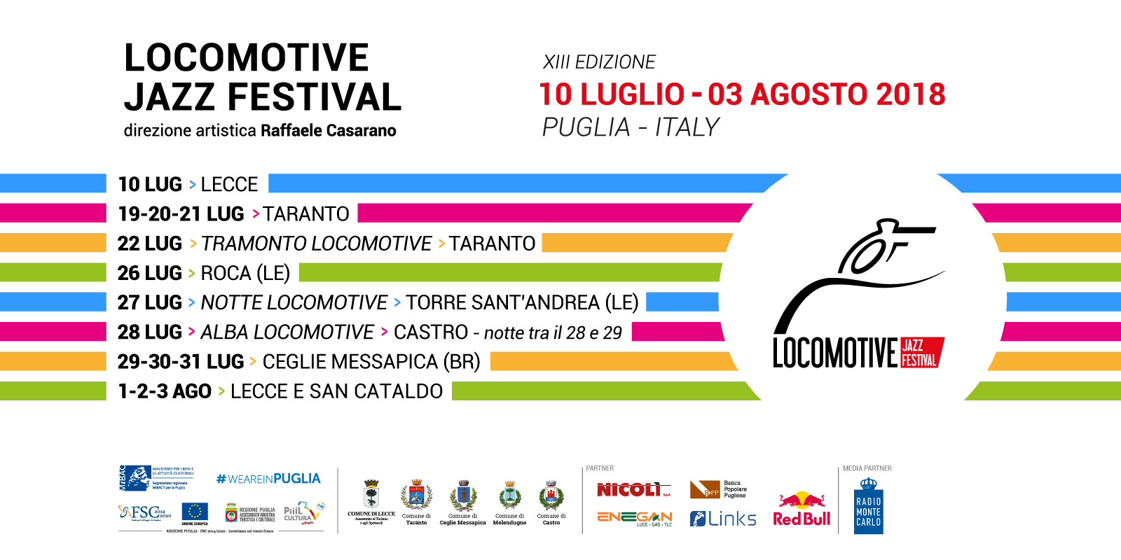sintesi date Locomotive Jazz festival2018