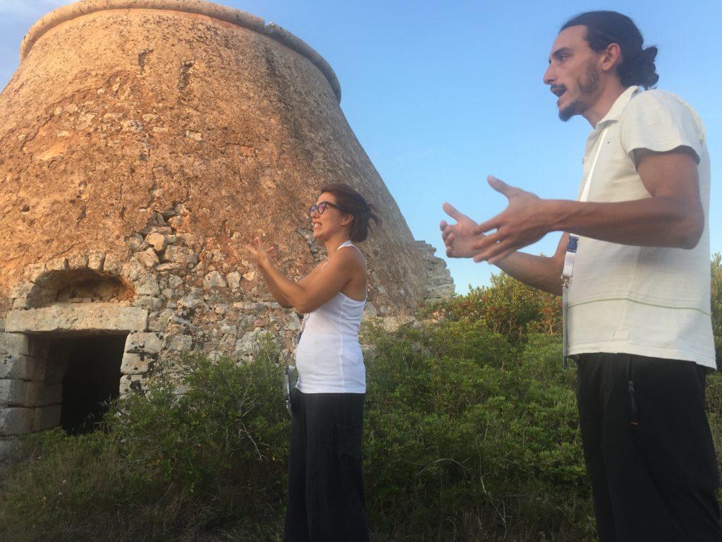 Itinerario tradotto in LIS da Monica Renna - bosco della Lizza