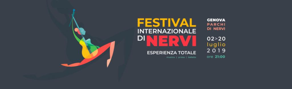 grafica Festival dei Nervi