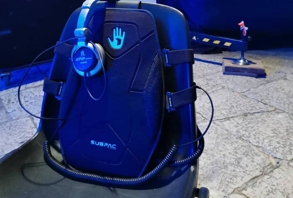 subpack, per ascoltare la musica attraverso il corpo